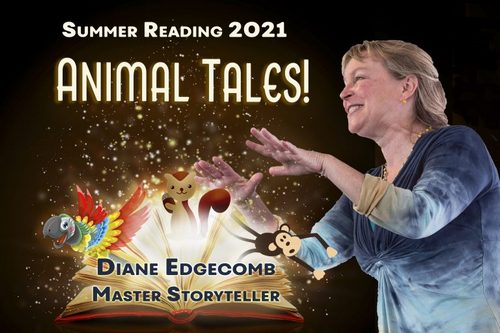 Post image for Storyteller at the Library Friday morning