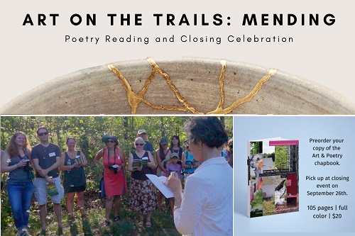 Post image for Poetry Walk marks closing of Art on the Trails – Sunday