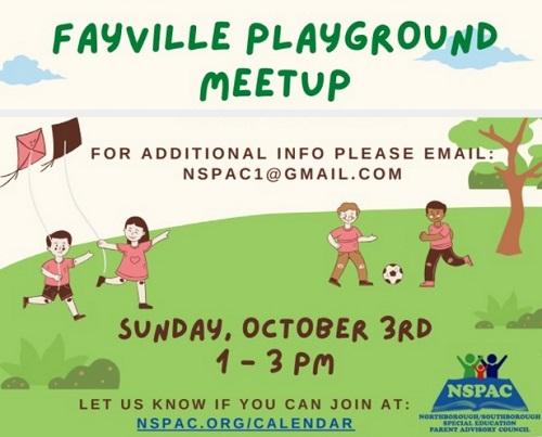 Post image for NSPAC Playground Meetup – October 3