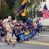 Cub Scouts Pack 1 marching in the Heritage Day Parade (photo by Beth Melo)