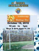 KoC Soccer Challenge flyer